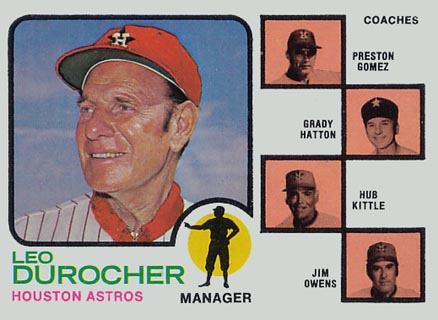 1973 manager card
